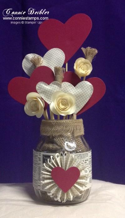 Hearts Bouquet001
